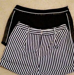2 Medium shorts